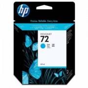 Мастилена касета HP 72 69-ml Cyan Ink Cartridge, C9398A