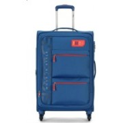 Skybags VANGUARD 4W EXP STROLLY 58 BRIGHT BLUE Expandable Cabin Luggage - 22 inch(Blue)