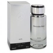 Mercedes Benz Silver Eau De Toilette Spray 4 oz / 118.29 mL Men's Fragrances 542482