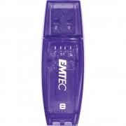 Stick USB 8GB C410 Violet EMTEC