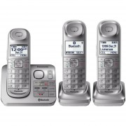 Telefono Inalambrico 3 Auriculares KX-TGL463S BlueTooth Plata
