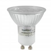 Omnilux - GU-10 230V 18x 1W LED Blue Led Lamp
