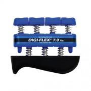 Digi-Flex hand/finger exercise system, kéz/ujj erősítő, kék, erősség: 3,2 kg - 10,4 kg