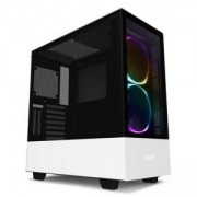 Кутия NZXT H510i Elite Smart Matte Mid-Tower, White, NZXT-CASE-H510E-W1