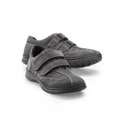 Walbusch Doppel Klett-Schuh Grau 43