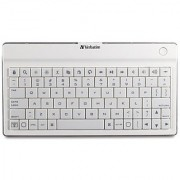 Verbatim Ultra-Slim Rechargable Wireless Bluetooth Keyboard iPhone iPad (All) iPod Touch Kindle Fire HD (All) Google