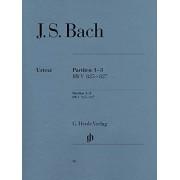 Bach J S Partitas 1-3 Bwv 825 827
