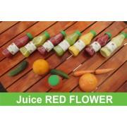 Juice Red Flower