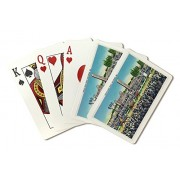 Baltimore, Maryland Pimlico Race Track; Horses Racing (Playing Card Deck 52 Card Poker Size With Jokers)