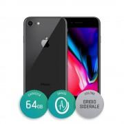 Apple Iphone 8 - 64gb - Grado A - Grigio Siderale