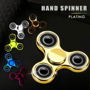Hand Spinner Toq Brand Fidget Spinner Plating Gold EDC Finger Figet Spiner For Autism ADHD Stress Relief Toys Puzzle Cube Toy 2