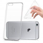 Apple Iphone 6 Plus/ 6s Plus: Housse Etui Coque Silicone Gel Ultraslim Et Ajustement Parfait - Transparent