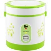 Ilo IHRC-2001 Electric Rice Cooker(0.6 L, Green, White)
