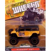Jada Bigtime 4 Wheelin 1:64 Hummer H2 Black/Yellow #31