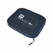 Cables De Datos Para Auriculares USB Flash Drives Estuche De Viaje Digital Storage Bag Pouch Azul Oscuro