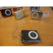 Mini MP3 přehrávač - černý