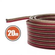 Hangszórókábel 2 x 1,0 mm² 20 m