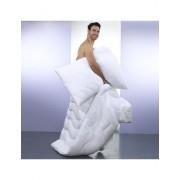 VEDIA Superbauschiges Duvet «White» mit Microfaser-Bezug, 240 x 240 cm, 2010 g