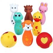 Svance Animals Friends Bowling Toy Set