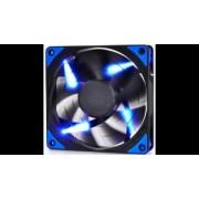 "Cooler DEEPCOOL PC 120x120x25 mm, blue LED, PWM, Fluid Dynamic Bearing, MTBF 100.000 ore, pale dual-layer detasabile, ""TF120 BLUE"""
