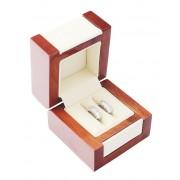 Dřevěná dárková krabička na snubní prsteny DN-2/NA/A20