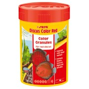 Granule pentru pesti ornamentali - SERA - Discus Color Red 100 ml