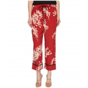McQ Piping Pintuck Track Pants AMP Red