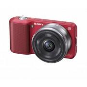 Sony Alpha NEX NEX3A/R Digital Camera with Interchangeable Lens (Red)