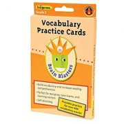 Edupress EP-3372 Brain Blasters Vocabulary Practice 40-Card Set Grade: 3 0.56 Height 5 Wide 8.13 Length (40 Cards per Package)