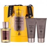 Acqua di Parma Colonia Colonia Intensa coffret II. Eau de Cologne 100 ml + bálsamo after shave 75 ml + gel de duche 75 ml