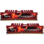 Kit Memorie G.Skill RipjawsX Red 16GB 2x8GB DDR3 1600MHz CL10 Dual Channel