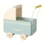 Maileg Barnvagn Blå för Micro