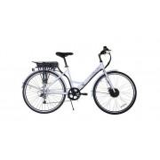 """E-Plus New 27"""" Fehér Uniszex Hibrid kerékpár"""
