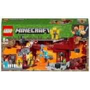 LEGO Minecraft: The Blaze Bridge (21154)
