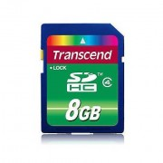 Transcend Memory Card 8gb Sdhc Class 4
