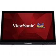 Viewsonic Dotykový monitor Viewsonic TD1630-3, 40.6 cm (16 palec),1366 x 768 px 12 ms, TN LCD HDMI™, USB, VGA, jack