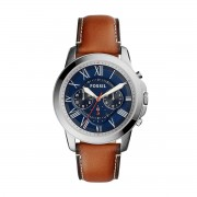 Часовник FOSSIL - Grant FS5210 Light Brown/Silver/Steel