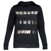 Under Armour Felpa Donna Synthetic Nero - S - Donna