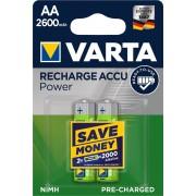Baterija Varta Professional Accu HR6 2600mAh bli2