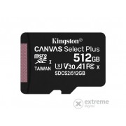 Card memorie Kingston Canvas Select Plus 512GB micro SDXC , Class 10, A1 (SDCS2/512GBSP)