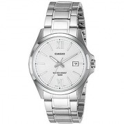 Casio Enticer Analog Silver Dial Mens Watch - Mtp-1376D-7Avdf (A829)
