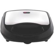 Wonder World ™ 750-Watt 2-Slice Sandwich Maker (Black with Silver) Toast(Silver, Black)
