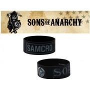 Road gear Bracelet officiel Sons of Anarchy en silicone modèle Samcro