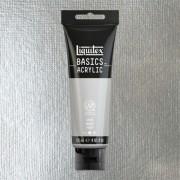 Liquitex Basics akrilfesték, 118 ml - 052, silver