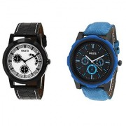 Oura Analog Round Casual Wear Men'S Watches Combo Of 2pc -Oura-CO-1614