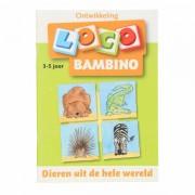 Lobbes Bambini Loco - Dieren uit de hele wereld 3-5 jaar