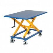 Rolléco Table élévatrice à manivelle Hauteur max. de levée : 1000 mm