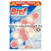 Bref Power Aktiv Chlorine WC-frissítő 3x50g