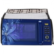 Glassiano Printed Microwave Oven Cover for Samsung Grill 20 Litre GW732KD-B/XTL
