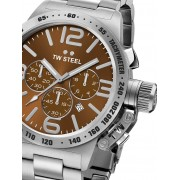 Ceas barbatesc TW-Steel CB23 Canteen Bracelet Cronograf 45mm 10ATM